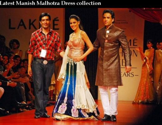 India Top Fashion designer Manish Malhotra  dress Collection picture 2013 2014