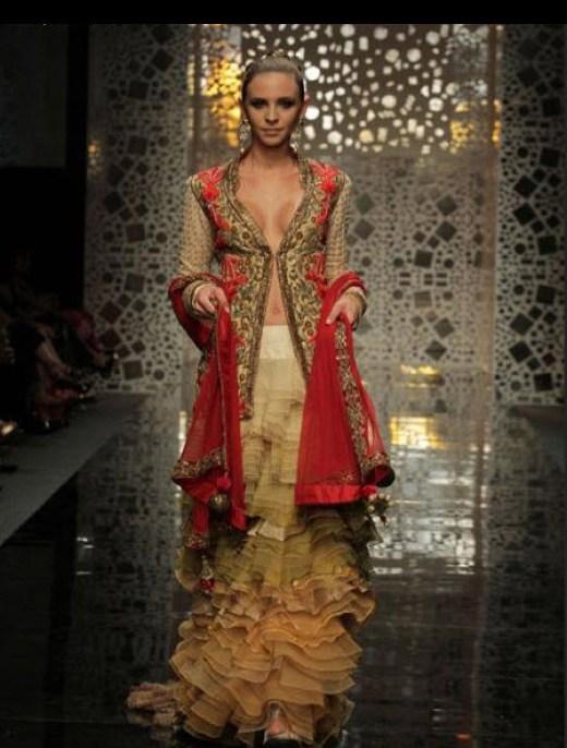 Manish-Malhotra Party Dress with price 2013 2014
