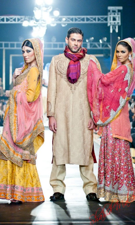 Pakistan Best Bridal Dress Fashion designer 2013