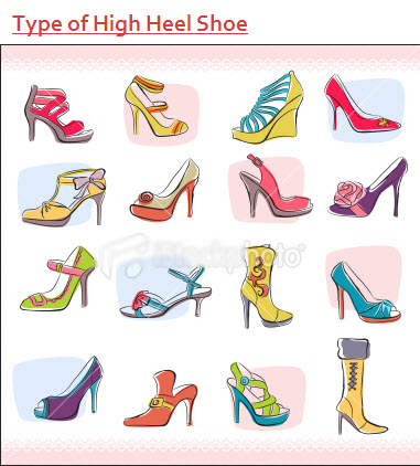 type of high heel shoe 2013  2014 picture