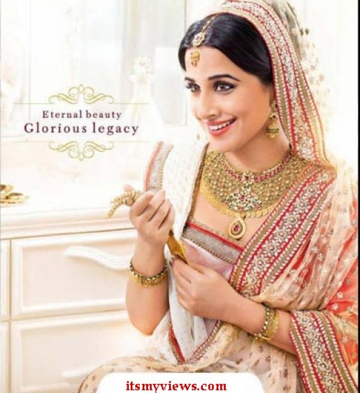 vidya-balan wedding-dress-lehnga
