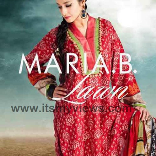 Spring-Summer-lawn-Collection-by-Maria-2013-2014