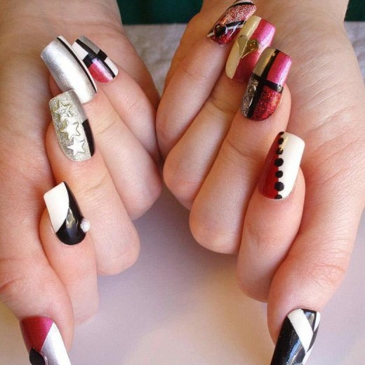 beautiful-nail-art-design-for-wedding-functions-2013-2014