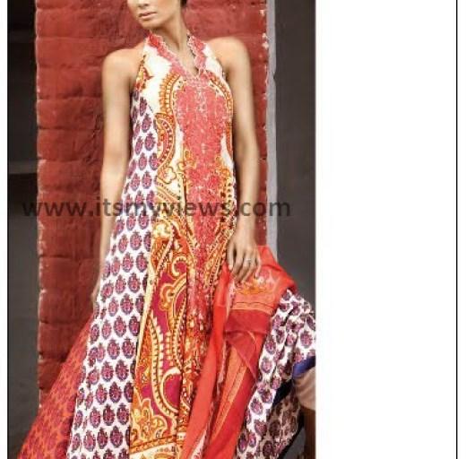 branded Sana Safinaz Lawn suits 2013-2014