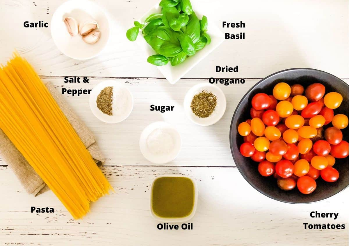 Roasted Cherry Tomato Pasta It S Not Complicated Recipes