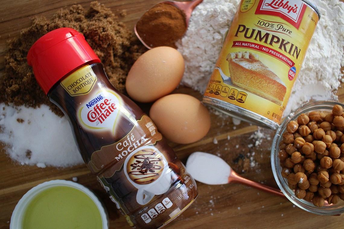 Carmel Mocha Pumpkin Bread
