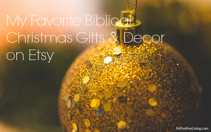 My Favorite Biblical Christmas Décor & Gifts on Etsy