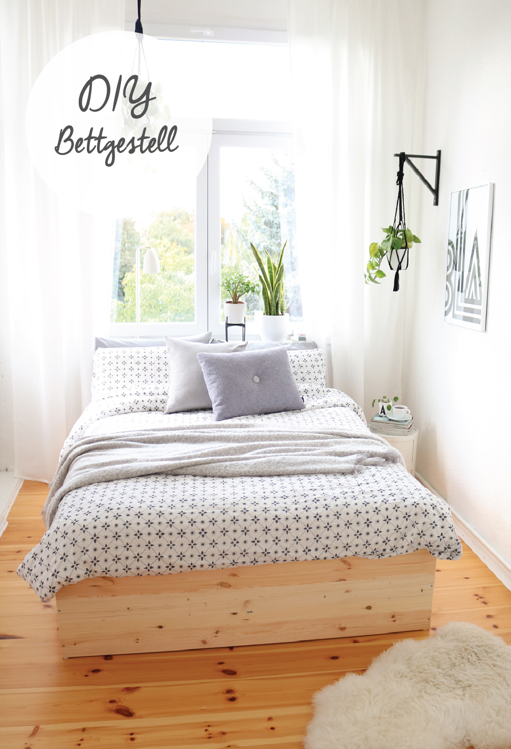 Memory Matratze Diy | Bettgestell Aus Holzplatten - It's Pretty Nice