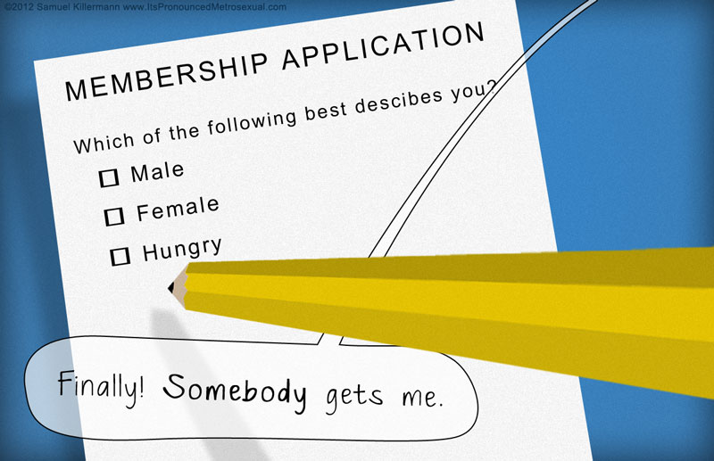 How you can make the gender question on an application form more
