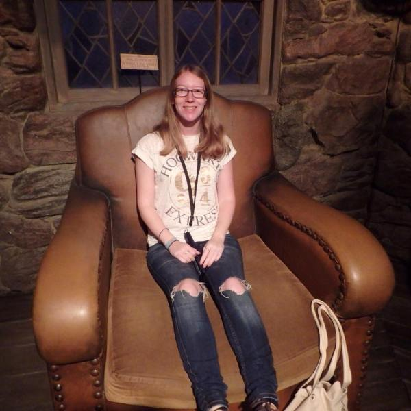 Feeling like a little girl in Hagrids big chair hagridshuthellip