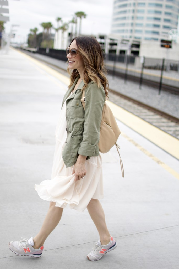 sneakers and a dress, itsy bitsy indulgences