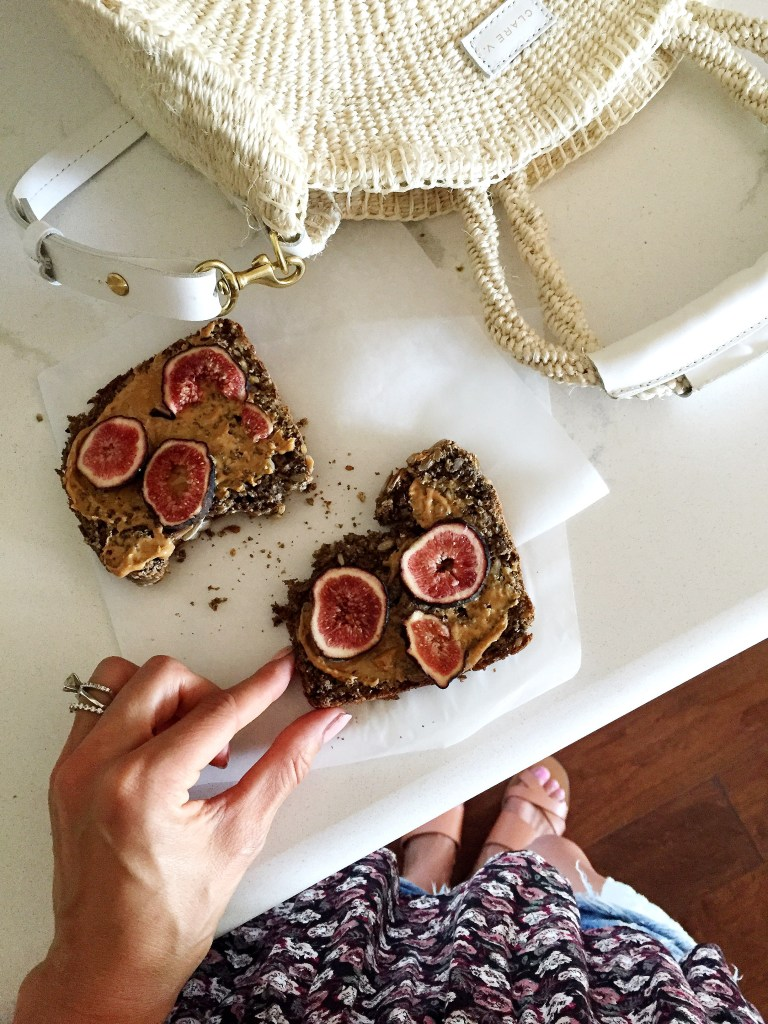 figs + peanut butter, itsy bitsy indulgences