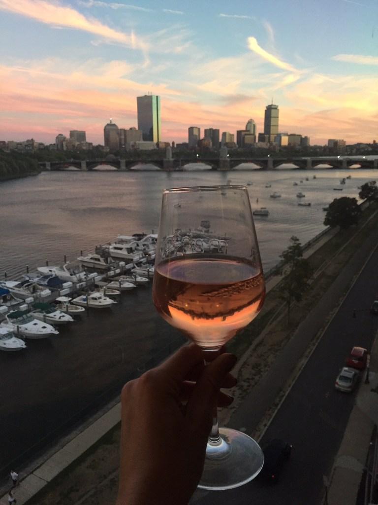 boston sunset, itsy bitsy indulgences