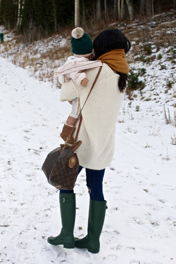 mommy and me winter outfit, itsy bitsy indulgences