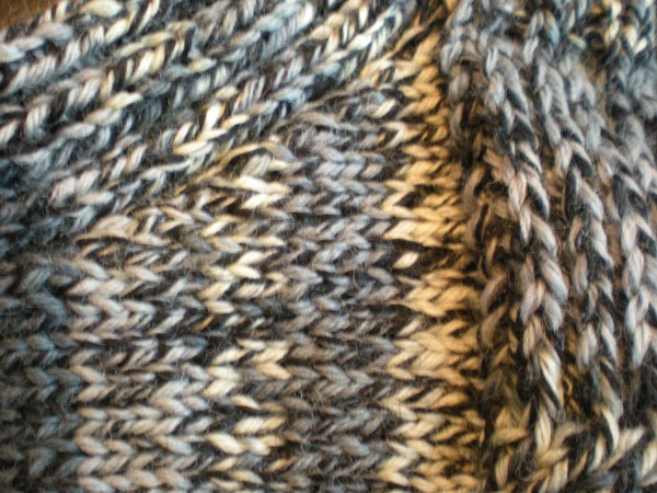 Knitting Decreases Slant Left : The no guess gusset … it takes balls to knit