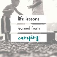 things my kids have learned from camping