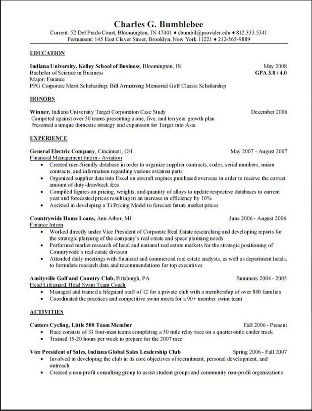 ucso resume template