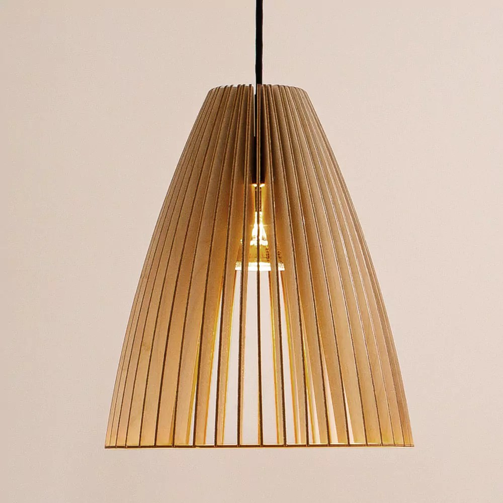 Hängeleuchte Holz Design Pendant Lights Teia By Iumi Design