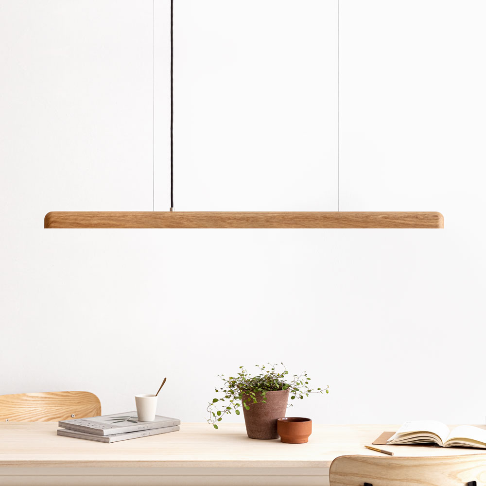 Led Pendelleuchte Holz Nyx By Iumi Design Berlin