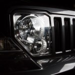 Headlamp, grill and bumper