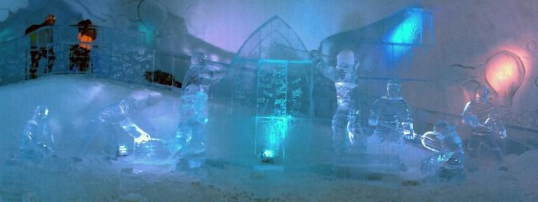 Ice Slide in Hôtel de Glace :: A Night of Ice in Québec City :: I've Been Bit! A Travel Blog