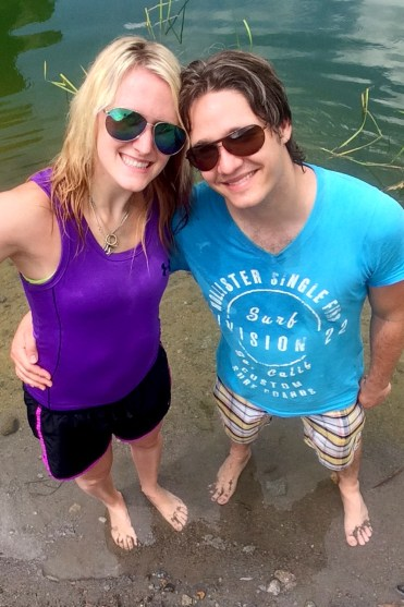 Cooling Off in the Crater - Mt Pinatubo Tour :: I've Been Bit! A Travel Blog