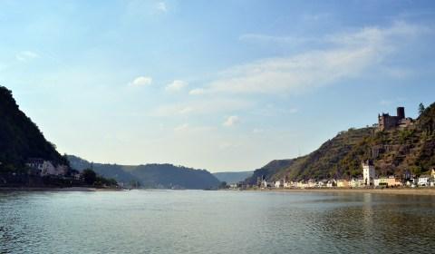 Beautiful shot from the shore of the Rhein.
