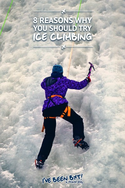IveBeenBit.ca :: 8 Reasons Why You Should Try Ice Climbing | Canada, Ontario, Adventure, Ice Climbing, Winter, Travel, Wanderlust | #Canada #Ontario #Adventure #IceClimbing #Winter #Travel #Wanderlust |