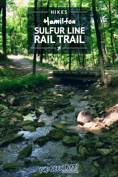 I've Been Bit! A Travel Blog :: Hiking Hamilton's Sulfur Line Rail Trail | Hike, Trails, Ontario, Canada, Outdoor Adventure |