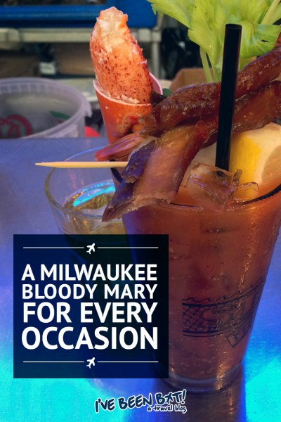 I've Been Bit! A Travel Blog :: A Milwaukee Bloody Mary for Every Occasion | USA, Wisconsin, Food, Foodie, Caesar, Travel |