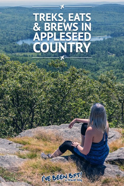 I've Been Bit! A Travel Blog :: Treks, Eats & Brews in Appleseed Country | USA, Massachusetts, Johnny Appleseed, Road Trip, Hiking, Food, Beer, Mt Watatic, Doane's Falls, Zapata Mexican Cocina, Gardner Ale House, Wachusett Brewery, River Styx Brewery |