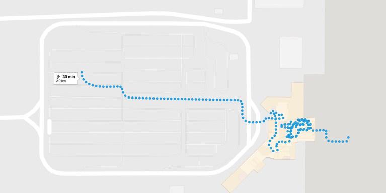 30 Walks 30 Days - John C Munro Airport, Hamilton, Ontario :: I've Been Bit! A Travel Blog