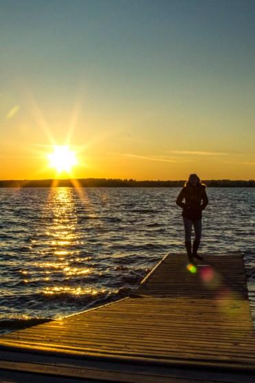 30 Walks 30 Days - Lake Audy Sunset :: I've Been Bit! A Travel Blog