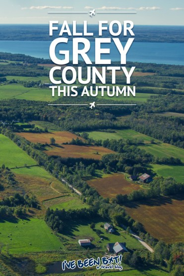 IveBeenBit.ca :: Fall for Grey County with this Amazing Autumn Guide | Ontario, Canada, Grey County, Owen Sound, Meaford, Thornbury, Cider, Apple Picking, Salmon Spawning, Pizza, Wine Tasting, Winery, B&B, Bed and Breakfast, Georgian Bay, Flight Tour, Scenic Flight, Waterfalls, Hiking |