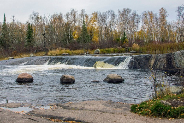 Rainbow Falls in Whiteshell Provincial Park - Photos That'll Inspire You To Road Trip Manitoba :: I've Been Bit! A Travel Blog