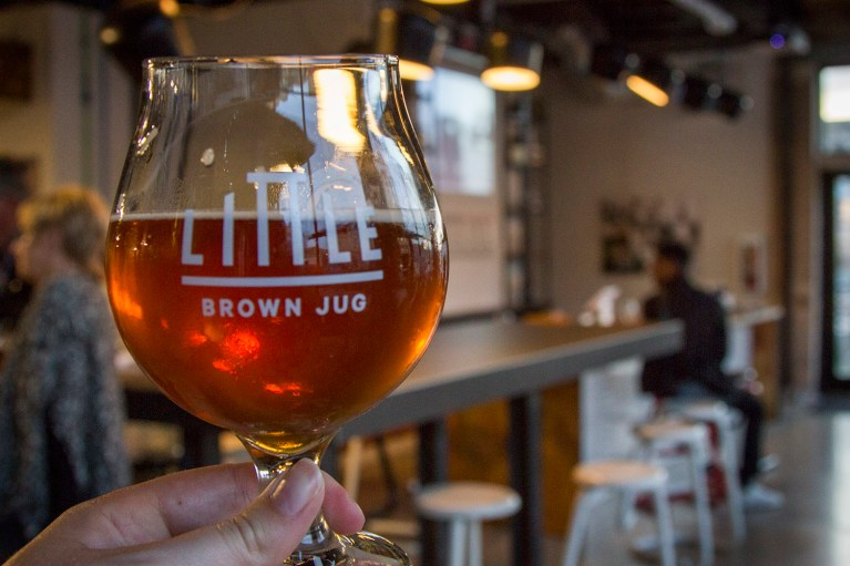 Little Brown Jug Brewing on the Winnipeg Trolley Company's Ale Trail, Manitoba Road Trip - 7 Days of Canadian Prairie Adventure :: I've Been Bit A Travel Blog