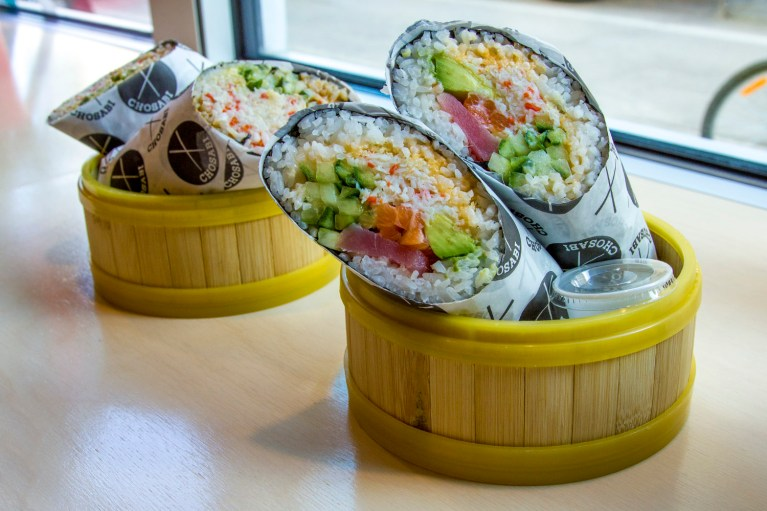 Chosabi Sushi Burrito, Manitoba Road Trip - 7 Days of Canadian Prairie Adventure :: I've Been Bit A Travel Blog