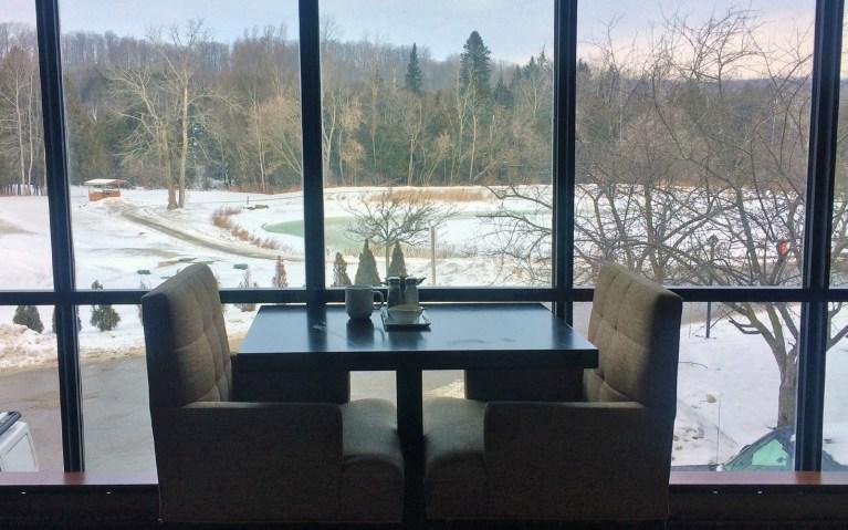 Hockley Valley Resort Breakfast View :: I've Been Bit! A Travel Blog