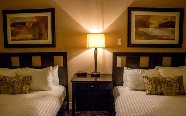 Our Comfy Beds at Hockley Valley Resort - A Girls Getaway :: I've Been Bit! A Travel Blog
