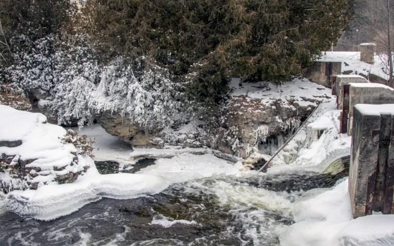 Limestone Cliffs in Rockwood Conservation Area :: I've Been Bit! A Travel Blog