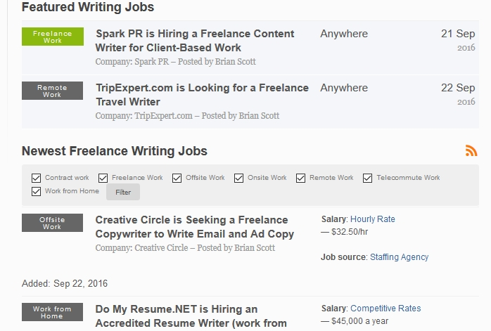 online job writing online blogging jobs from home lance writers new - resume writing jobs