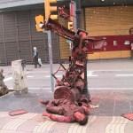 Barcelona, street artist