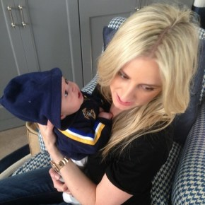 Roxy Jacenko with her son Hunter