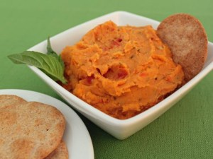 Sundried tomato and bean dip