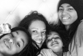 Mel B and her daughters have some serious girl power.