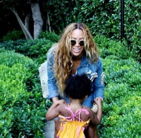 Beyonce and daughter Blue Ivy
