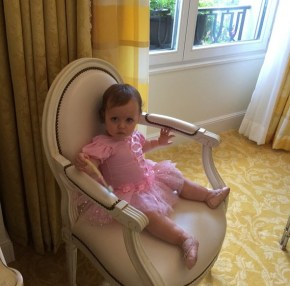 Holly Madison's daughter Rainbow