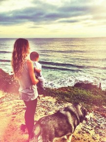 Silvana Lovin and her son Nicholas