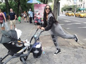Ciara and her son Future