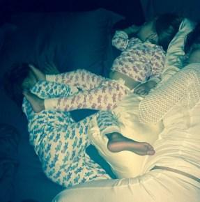 Kourtney Kardashian's children Mason and Penelope